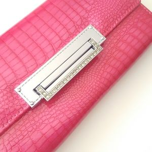 Beautiful Dark Pink Genuine Leather Wallet